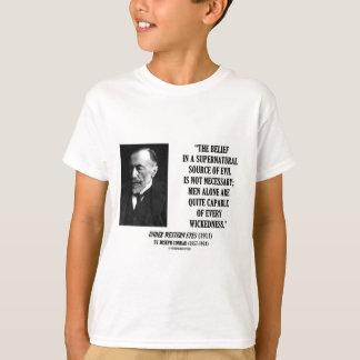 Joseph Conrad Source Evil Man Capable Wickedness T-Shirt