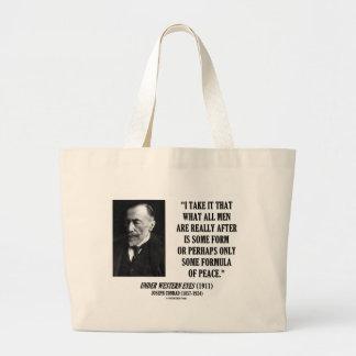 Joseph Conrad todos los hombres después de una Bolsa Tela Grande