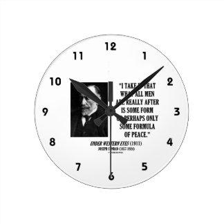 Joseph Conrad todos los hombres después de una Relojes