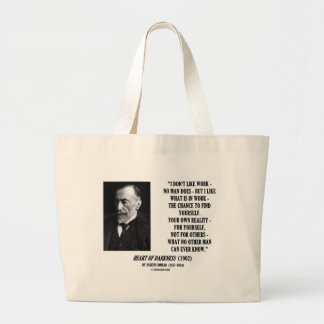 Joseph Conrad Work Chance Your Own Reality Quote Tote Bag