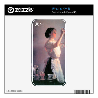 Joseph DeCamp - The blue cup iPhone 4 Decal