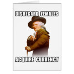 Joseph Ducreux Acquire Currency Greeting Cards