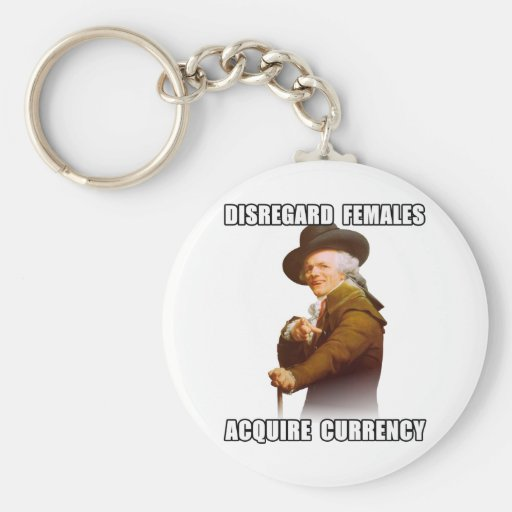 Joseph Ducreux Acquire Currency Keychain