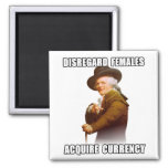 Joseph Ducreux Acquire Currency Refrigerator Magnet