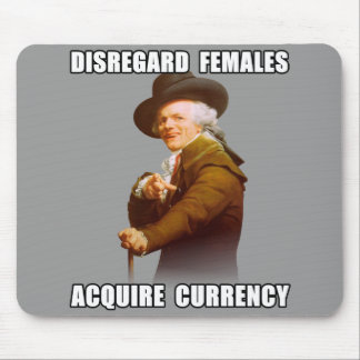 Joseph Ducreux Acquire Currency Mouse Pad