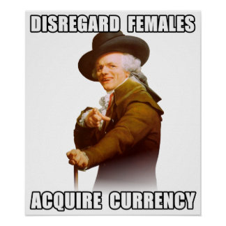 Joseph Ducreux Acquire Currency Posters