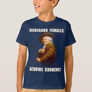 Joseph Ducreux Acquire Currency T-Shirt