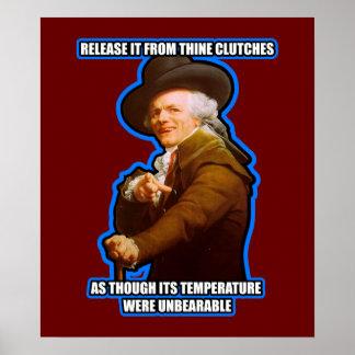 Joseph Ducreux Archaic Rap Poster $24.95