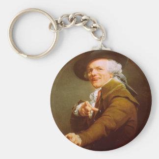 Joseph Ducreux Self Portrait Keychain