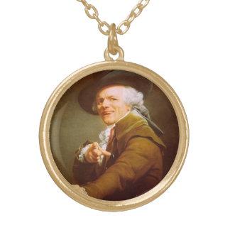 Joseph Ducreux Self Portrait Necklace