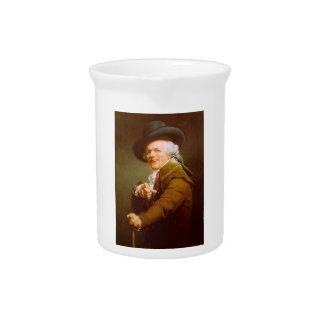 Joseph Ducreux Self Portrait Pitcher