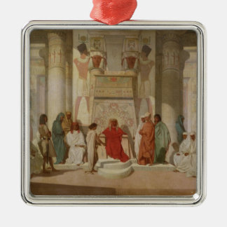 Joseph Explaining Pharaoh's Dreams Metal Ornament