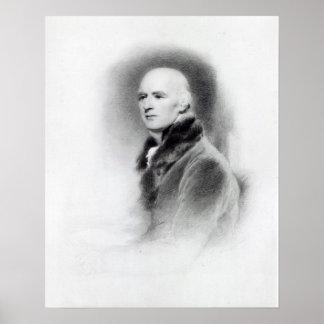 Joseph Farington, engraved by Richard Evans Poster