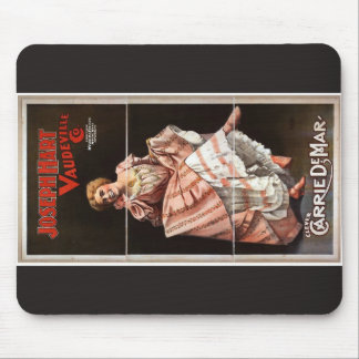 Joseph Hart Vaudeville, 'Clever Carrie Demar' Mousepads
