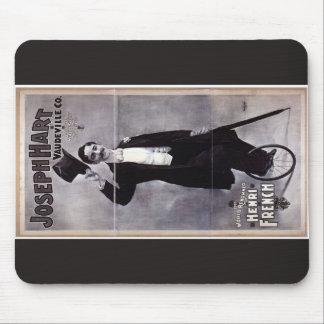 Joseph Hart Vaudeville, 'Henry French' Retro Theat Mousepads