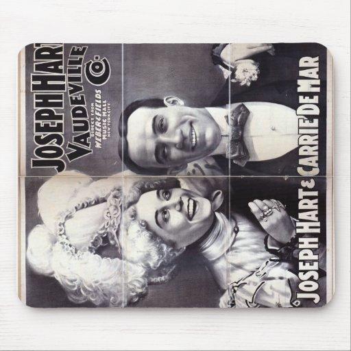 Joseph Hart Vaudeville Mousepads