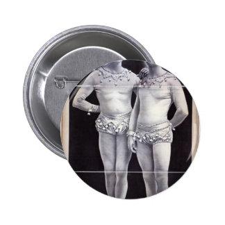 Joseph Hart Vaudeville, 'The Vanaukens' Retro Thea Buttons
