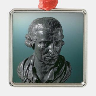 Joseph Haydn Adorno Navideño Cuadrado De Metal