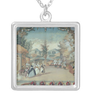 Joseph Haydn at first performance of his opera Silver Plated Necklace