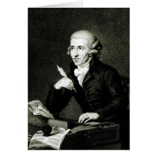 Joseph Haydn  c.1770 Card