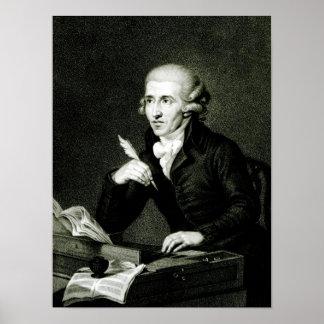 Joseph Haydn  c.1770 Poster