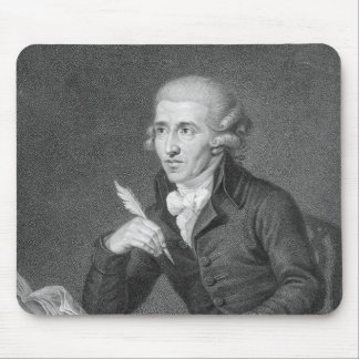 Joseph Haydn  engraved by Schiavonnetti, 1792 Mouse Pad