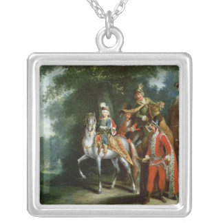 Joseph II, Emperor of Germany Silver Plated Necklace