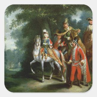 Joseph II, Emperor of Germany Square Sticker