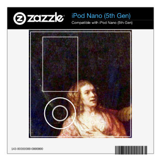 Joseph is accused by Potiphars woman by Rembrandt Decal For iPod Nano 5G