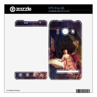 Joseph is accused by Potiphars woman by Rembrandt Decals For HTC Evo 4G
