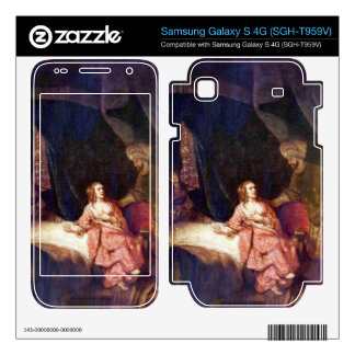 Joseph is accused by Potiphars woman by Rembrandt Samsung Galaxy S 4G Skin