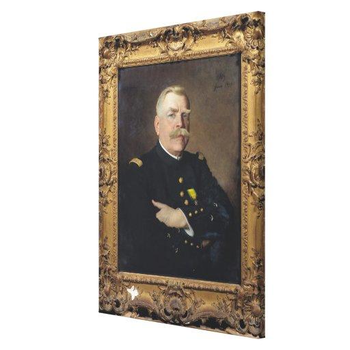 Joseph Joffre  1915 Gallery Wrap Canvas