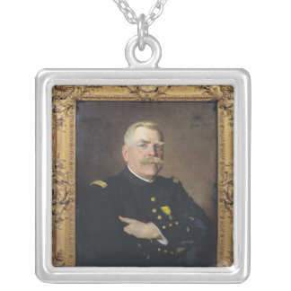 Joseph Joffre  1915 Silver Plated Necklace
