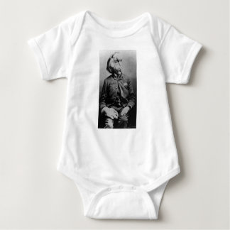 """Joseph """"John"""" Merrick The Elephant Man from 1889 Baby Bodysuit"""