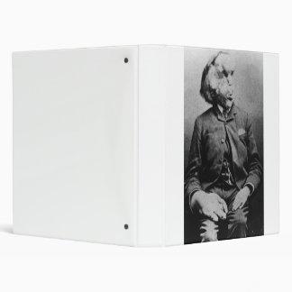 "Joseph ""John"" Merrick The Elephant Man from 1889 Binder"