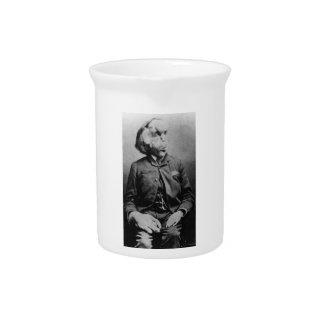 "Joseph ""John"" Merrick The Elephant Man from 1889 Drink Pitcher"