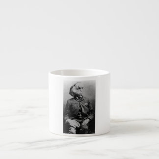 "Joseph ""John"" Merrick The Elephant Man from 1889 Espresso Cup"