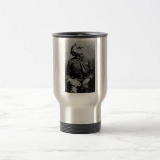 """Joseph """"John"""" Merrick The Elephant Man from 1889 15 Oz Stainless Steel Travel Mug"""