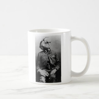 "Joseph ""John"" Merrick The Elephant Man from 1889 Classic White Coffee Mug"