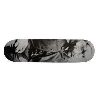 "Joseph ""John"" Merrick The Elephant Man from 1889 Custom Skate Board"