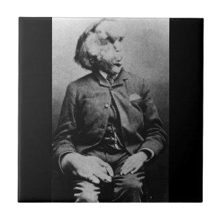 """Joseph """"John"""" Merrick The Elephant Man from 1889 Tile"""