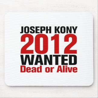 Joseph Kony 2012 Wanted Mouse Pad