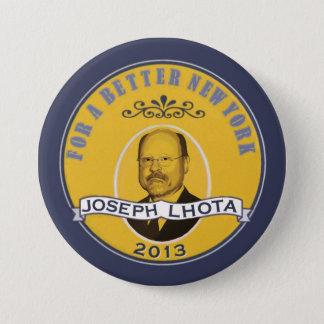 Joseph Lhota for NY Mayor 2013 Button
