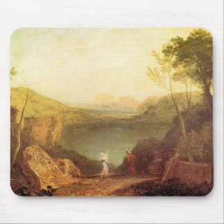 Joseph Mallord Turner - Aeneas and Cybelle at Lake Mouse Pad