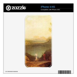 Joseph Mallord Turner - Aeneas and Cybelle at Lake Skins For iPhone 4