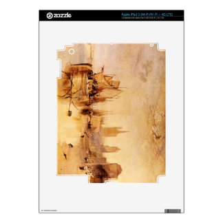 Joseph Mallord Turner - Arrival of boat Cologne iPad 3 Decals