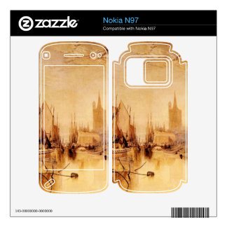Joseph Mallord Turner - Arrival of boat Cologne Skins For Nokia N97