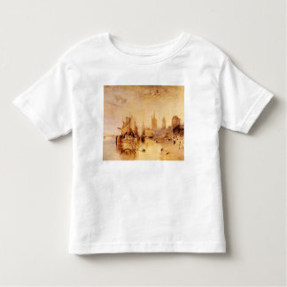 Joseph Mallord Turner - Arrival of boat Cologne Toddler T-shirt