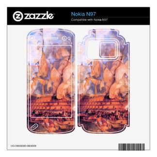 Joseph Mallord Turner - Battle of Trafalgar 2 Skin For Nokia N97