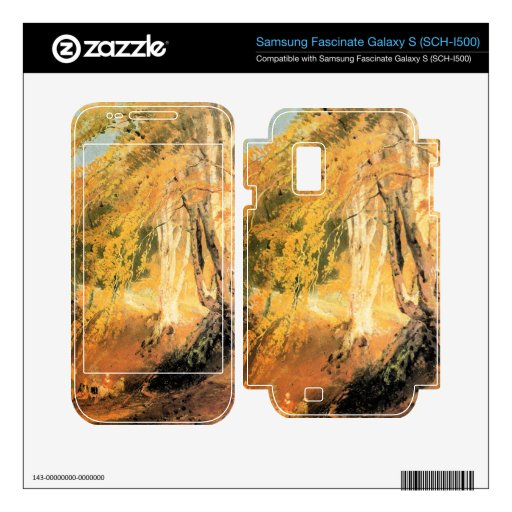 Joseph Mallord Turner - Beech woods with Gypsies 2 Samsung Fascinate Skins